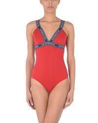Emporio Armani Red Bodysuit