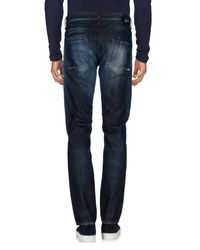 Ra-re - Blue Denim Trousers for Men - Lyst