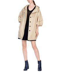 Prada Natural Overcoats