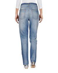 Current/Elliott Blue Denim Trousers