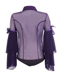 X's Milano Purple Shirt
