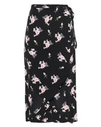 byTiMo Black 3/4 Length Skirt