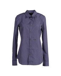 DSquared² - Blue Shirt - Lyst