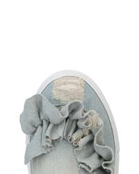 VIA VELA 14 Blue Low-tops & Sneakers