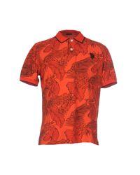 U.S. POLO ASSN. Red Polo Shirt for men