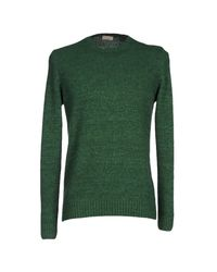 Altea Green Sweater for men