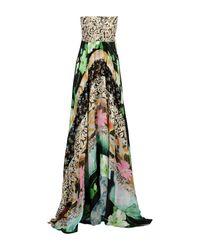 Nolita Green Long Dress