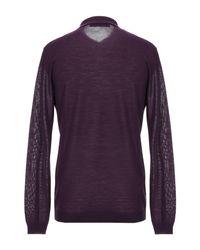 Versace Purple Sweater for men