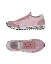 Sneakers & Tennis basses Premiata en coloris Pink