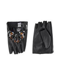 Jijil Black Gloves