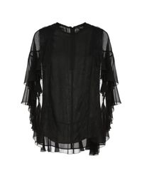 Blusa Giambattista Valli de color Black
