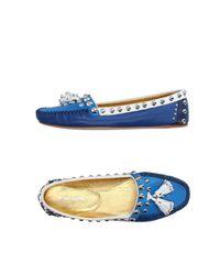 Prada Blue Loafer