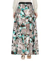 Class Roberto Cavalli Brown Long Skirt