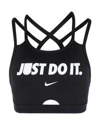 Top di Nike in Black