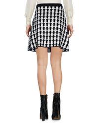 Gianluca Capannolo Black Mini Skirt