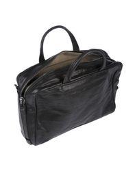 Alvaro Black Handbag for men