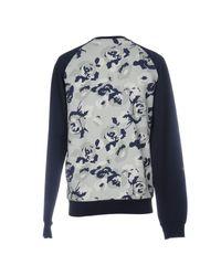 MSGM Blue Sweatshirt for men