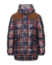 Napapijri Blue Synthetic Down Jacket for men