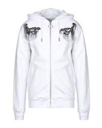 Sweat-shirt Off-White c/o Virgil Abloh pour homme en coloris White