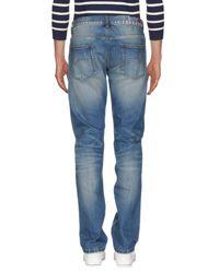 Sun 68 Blue Denim Pants for men