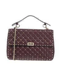 Valentino Garavani Purple Handbag