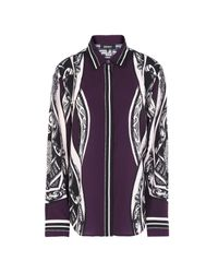 DKNY Purple Shirt