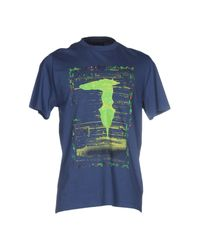 Trussardi Blue T-shirt for men