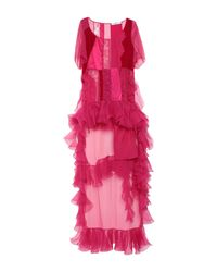 Robe courte Givenchy en coloris Multicolor