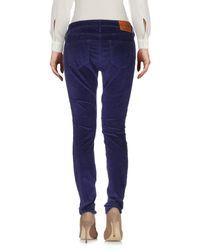 True Religion Blue Casual Trouser