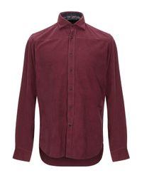 MASTRICAMICIAI Red Shirt for men