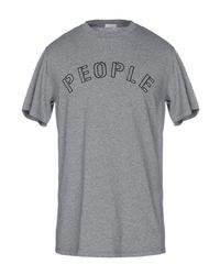 T-shirt di People in Gray da Uomo