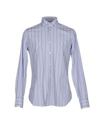 Caliban Blue Shirt for men