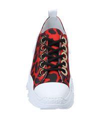 N°21 Red Low Sneakers & Tennisschuhe