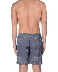 Replay Multicolor Swim Trunks for men