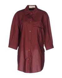 Marni Red Shirt