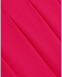 Victoria Beckham Pink Long Skirt