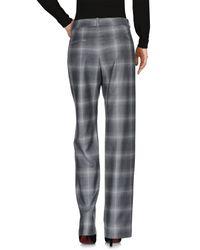 Peserico Gray Casual Trouser