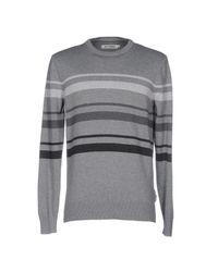 Ben Sherman Gray Sweater for men