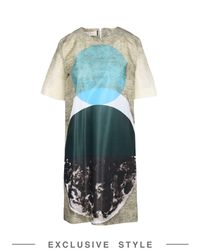 Marni Multicolor Short Dress