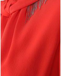Victoria Beckham Red Knee-length Dress
