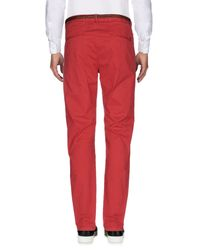 Scotch & Soda Red Casual Trouser for men