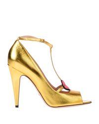 Zapatos de salón Gucci de color Multicolor