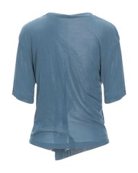 T-shirt di Unravel Project in Blue