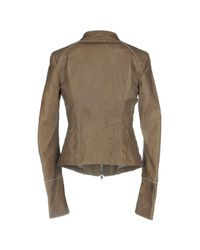 Patrizia Pepe Gray Jacket