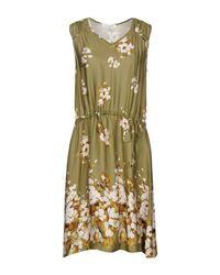 Twin Set Green Knee-length Dress
