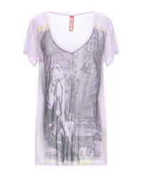 T-shirt di Met in Purple