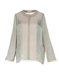 Iris Van Herpen Gray Shirt
