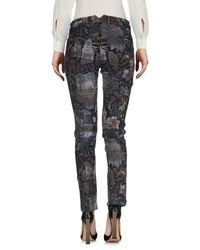 Soallure Gray Casual Trouser