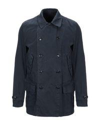 Aspesi Lange Jacke in Blue für Herren