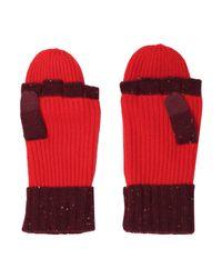 Rag & Bone - Red Gloves - Lyst